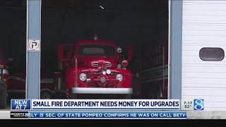 Small fire department needs money for upgrades