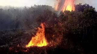L'incendie d'Olmeta di Tuda en Haute-Corse inquiète les sapeurs-pompiers