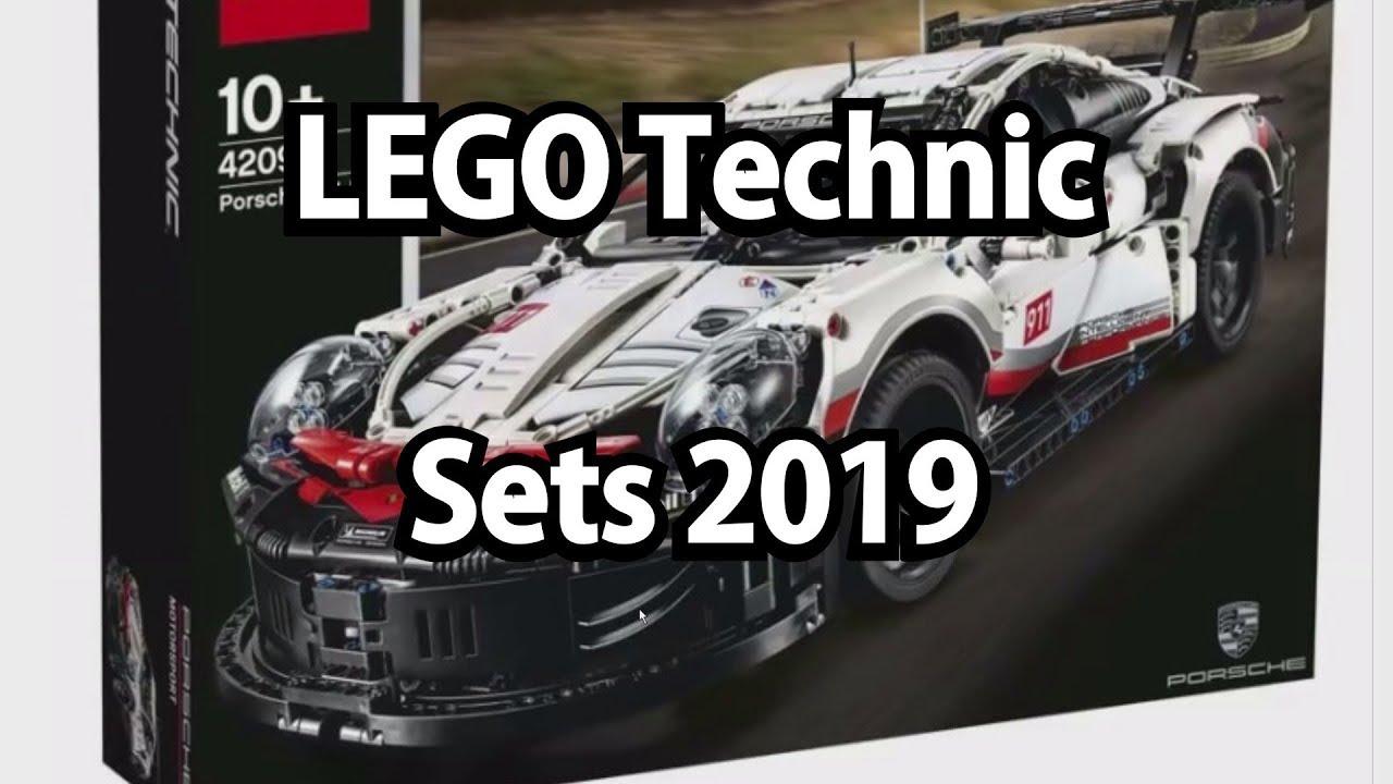 Lego Technic Sets 2019 Klemmbausteinlyrik News Youtube