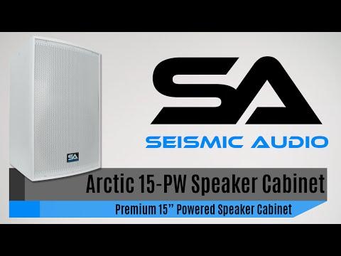 Seismic Audio Arctic 15-PW Premium White Speaker Cabinet (Official)