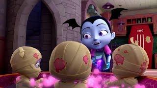 Vampirina en Español 💜El Diia de la momia #3 | Disney Junior Vampirina Capitulos