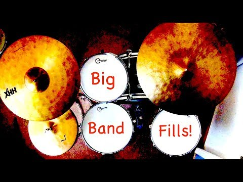 Jazz Drum Lesson: Big Band Set Ups and Fills!