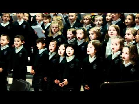 Queen of All Saints Elementary School Junior Choirs at Lougheed Mall Coquitlam (1)