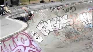 Skater at Potrero Del Sol Park in San Francisco