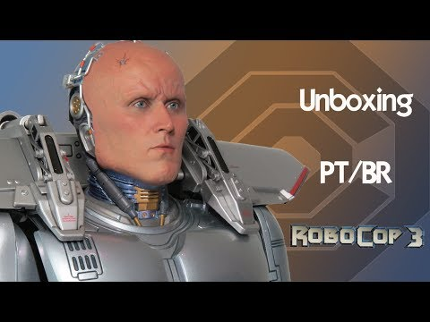 Caixa de Pandora #131 - Alex Murphy - Robocop 3 - Enterbay - Escala 1/4 - Review