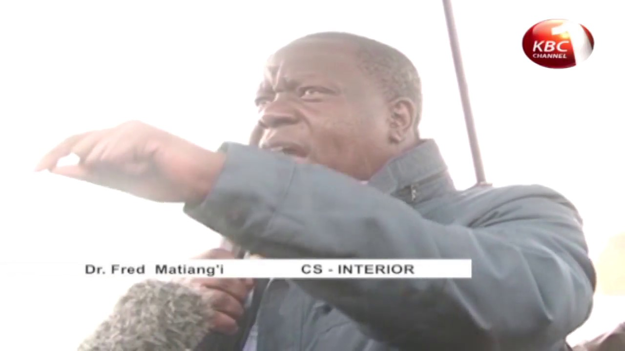 Government issues a 90 day dusk to dawn curfew in Mt. Elgon
