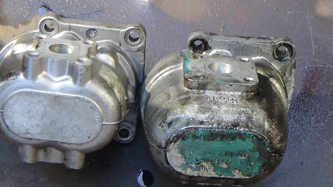 Ремонт трактора Т-40 АМ ч № 11,замена насоса гидравлики.