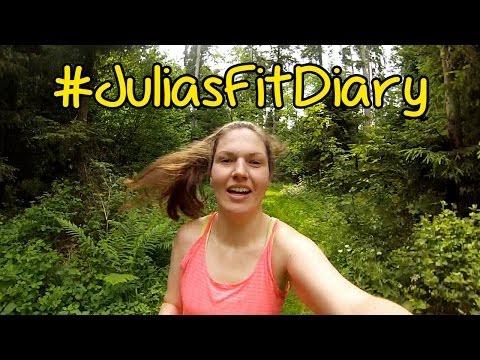 RUNNING GIRL!! (GoPro) #JuliasFitDiary