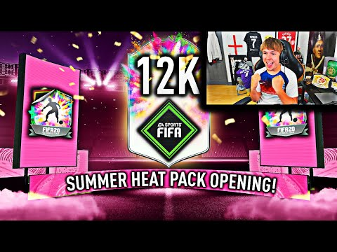 This Is What 12,000 FIFA Points Got Me For SUMMER HEAT...