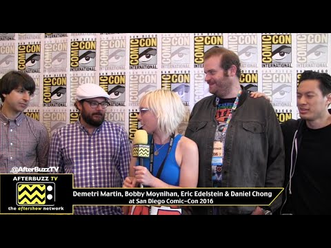 We Bare Bears cast at San Diego Comic-Con 2016