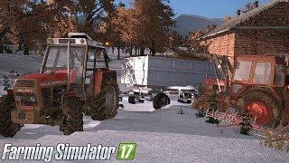 Zimowe zmagania w polu #60 [Gospodarstwo Rolne] Farming Simulator 17 | NetNar