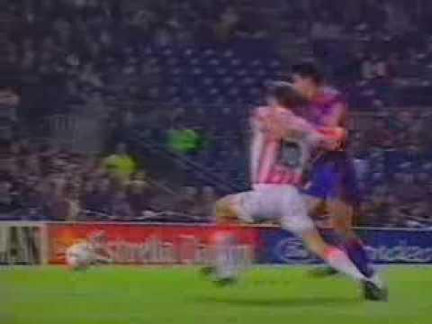 Hagi & Popescu (rare goals for Barcelona)