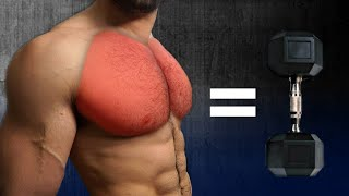Home Chest Workout Dumbbells and Body weight