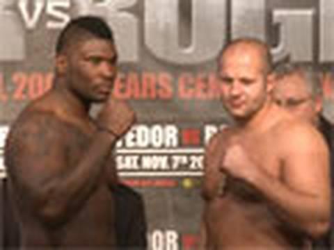 Weigh-In: Strikeforce: Fedor v...