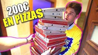 LE COJO SU TARJETA DE CREDITO SIN SU PERMISO Y ME GASTO 200€ EN PIZZAS!! *BROMA A SHOOTER* [Logan G]