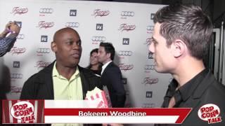 Fargo Season 2 Red Carpet | Bokeem Woodbine remembers Chris Farley