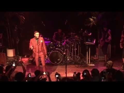 Jidenna Front Row In ATL Concert Pop Up Show 'Chief Don't Run' Terminal West