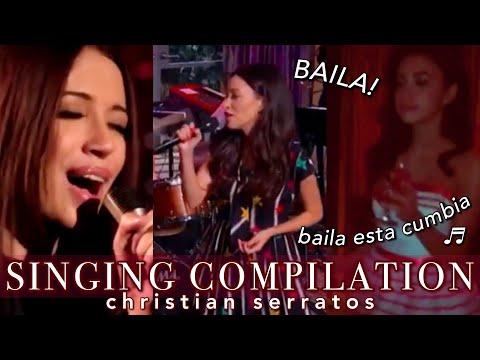 CHRISTIAN SERRATOS SINGING COMPILATION!  serratos daily