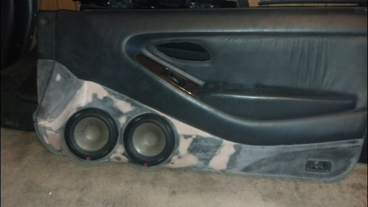 99 Accord Rockford Fosgate Sq Build Quot 2400 Total Watts Quot Custom Door Panels Part 1 Youtube