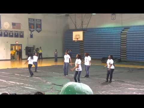 Denmark Olar High School Step Team
