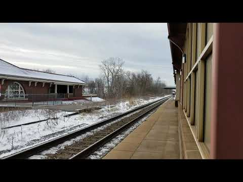 Another amtrak 48 flying by Rome ny.