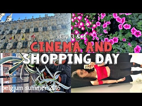 Cinema + Shopping Day + Mom Jeans // Belgium Summer 2016