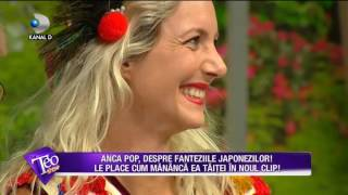 Teo Show (10.07.2017) - Anca Pop ii satisface pe japonezi mancand taitei!