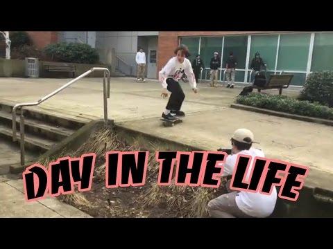 Skater kids day in the life (street skating and park skating)