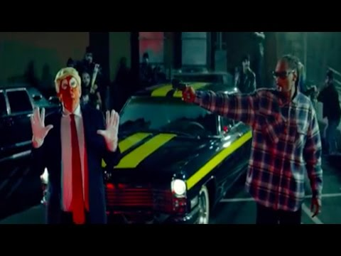 Snoop Dogg Disses Donald Trump As A Clown & Then Shoots Him In New Video