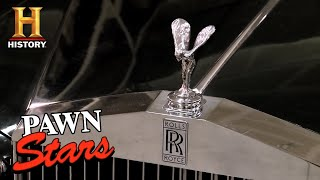 Pawn Stars: BIG MONEY for ONE-OF-A-KIND Johnny Cash 1970 Rolls Royce (Season 8) | History