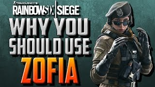 Why You Should Use Zofia in Rainbow Six Siege!