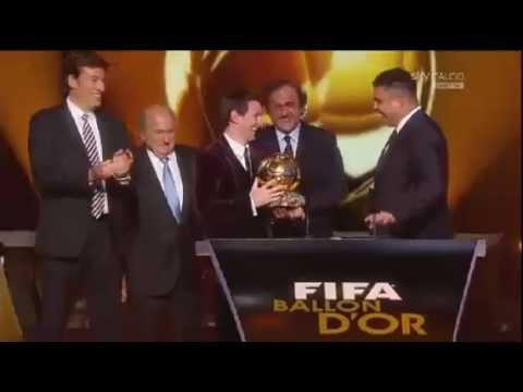 FIFA Ballon d'Or 2011 - Lionel Messi