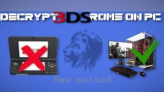 [UPDATED EASY GUIDE] How to DECRYPT 3DS ROM without a 3DS console on PC even offline