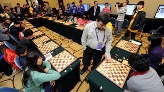 Fourth day of the SportAccord World Mind Games 2012