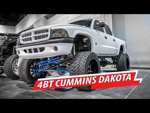 Solid Axle Dodge Dakota with a 4BT Engine Conversion