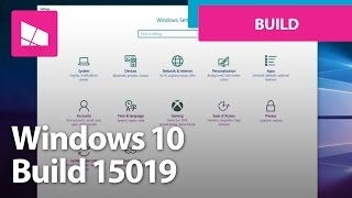 Windows 10 Build 15019 - Game Mode, Beam Streaming, Settings + MORE