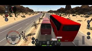 ultimate bus simulation carries passengers 700 km. best simulation game. mega bus screenshot 4
