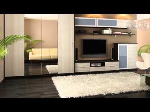 Выбираем дизайн шкафа для гостиной и спальни