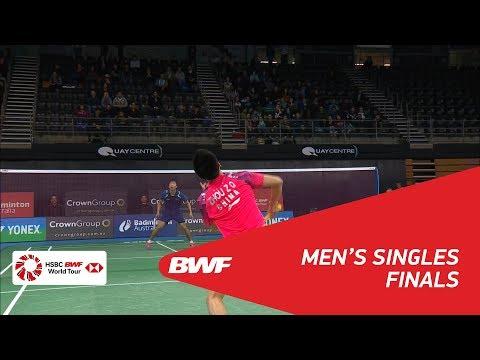 MS | LU Guangzu (CHN) vs ZHOU Zeqi (CHN) | BWF 2018