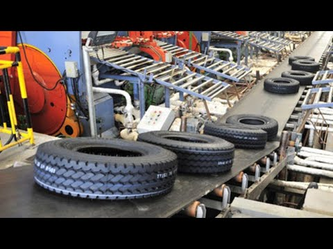 How To Make Tire - Amazing Automatic Line To Manufacture Tire - How To Retread Old Tire
