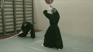 Martial arts, Niden Ryu Iaijutsu / Kenjutsu. Omote mokuroku http://aikisinten.spb.ru