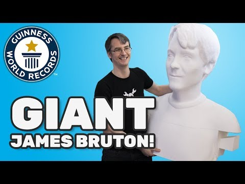 Tallest 3D-printed sculpture of a human – Science & Stuff