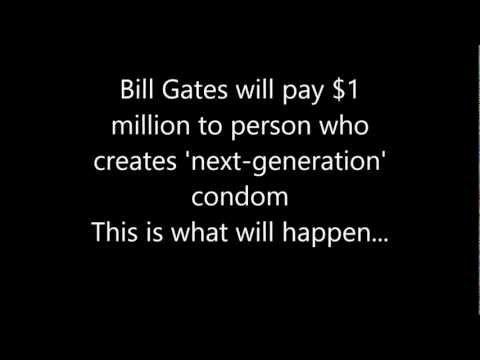Condom for Bill Gates