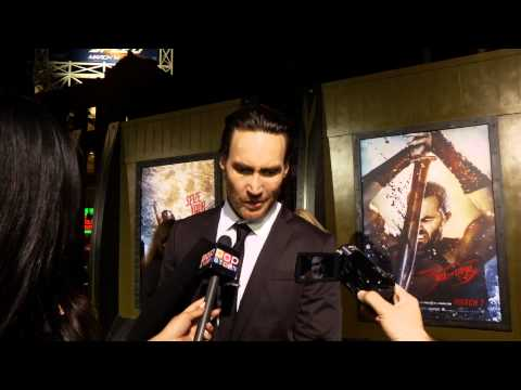 "Callan Mulvey Talks Waxing Body Hair and Female Empowerment at ""300: Rise of An Empire"" Premiere!"