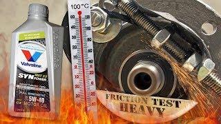 Valvoline Synpower MST C3 5W40 Jak skutecznie olej chroni silnik? 100°C
