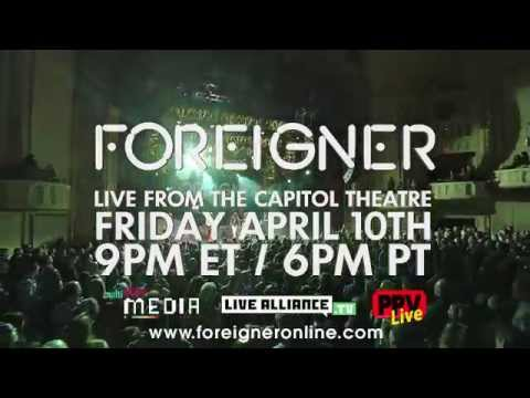 Foreigner Live in New York Promo Thumbnail image
