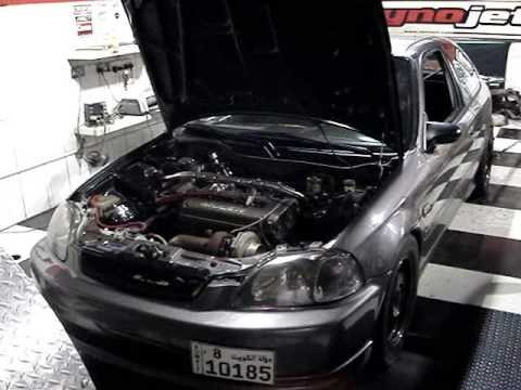 "(515whp) Turbo Civic EK ""Kuwait"""