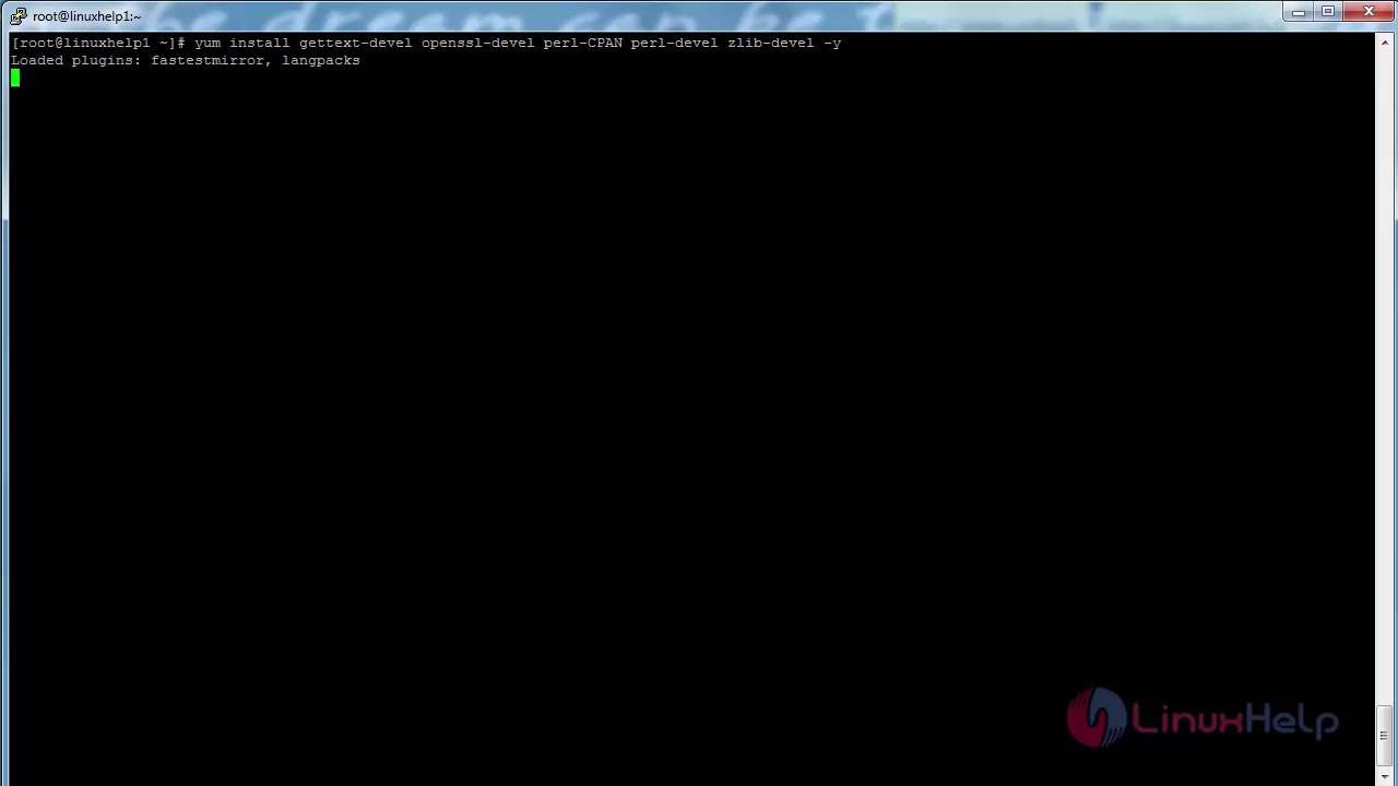 How to install Git in CentOS | LinuxHelp Tutorials
