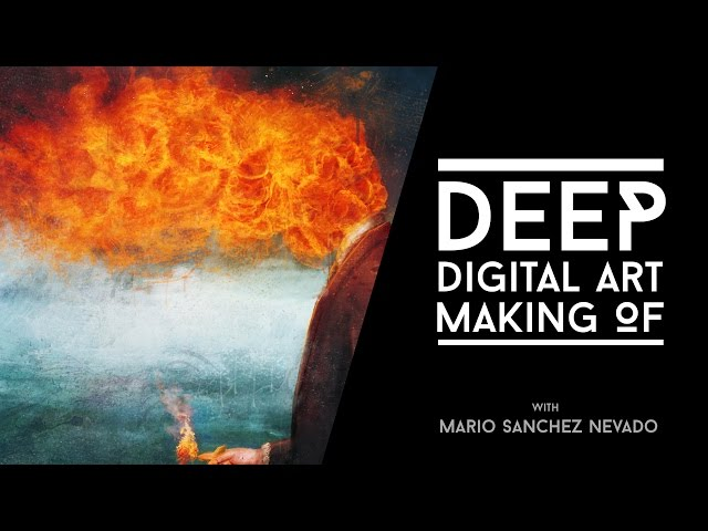 Deep - Photoshop Making of by Mario Sanchez Nevado