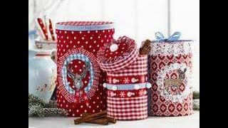 Ideas para reciclar decorando con latas parte I / decorating ideas to recycle cans